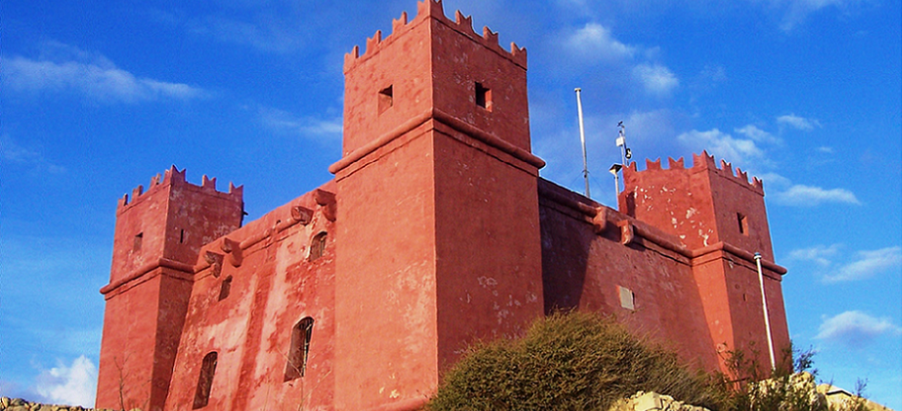 St. Agatha's Tower-The Red Tower (2) by Pauline Dingli